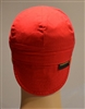 welding hat or cap red in color