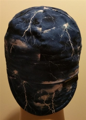 welding hat lightning bolt