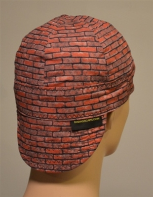 bricks masonry welding hat