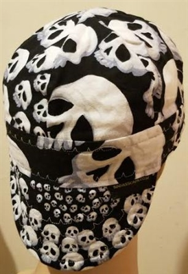 black skullfinity welding hat.