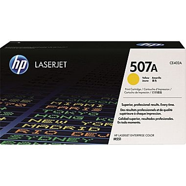 Cartridge for the HP M551Series - Yellow