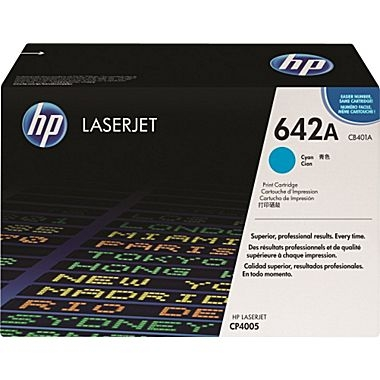 Cartridge for the HP CP4005 Series - Cyan