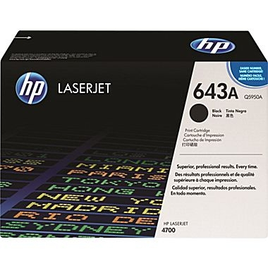 Cartridge for the HP 4700 Series - Black