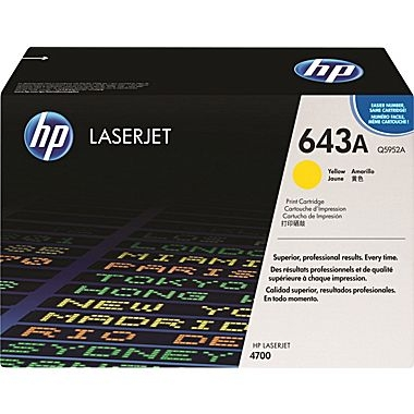 Cartridge for the HP 4700 Series - Yellow