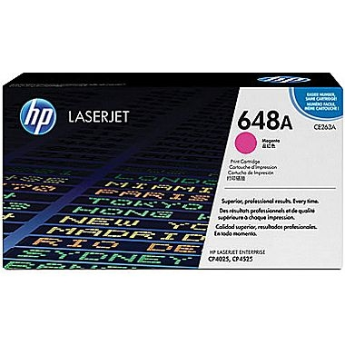 Cartridge for the HP  CP4025N, CP4520, CP4525 Series - Magenta