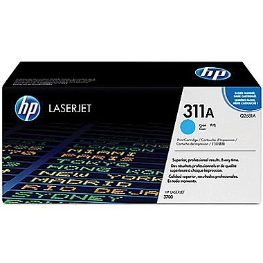 Cartridge for the HP 3700 Printer Series - Cyan