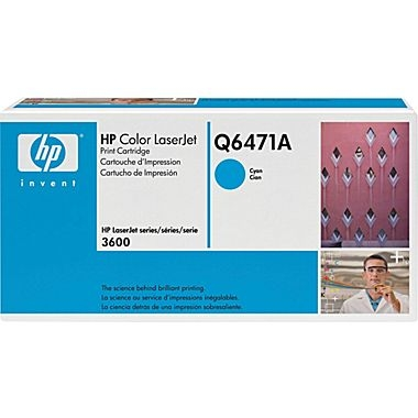 Cartridge for the HP 3600 Printer Series - Cyan