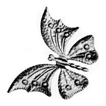 "Butterfly Large 6-7/8"" X 4-15/16"" .0197 Matl"