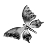 "Butterfly Small 4-5/16"" X 2-9/16"" .0197 Matl"