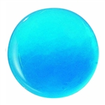"Embellishment Blue Glass 3-5/16"" Dia"