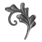 "Leaf Cast Steel 5/8"" X 1/4"" Matl 4-5/16"" X 5-1/2"""