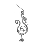 "Newel Post Dragon Design 1-3/16"" Sq 13-3/4 X 39-3/"