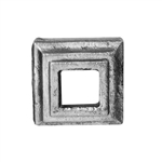 "Shoe Hole 1/2"" Sq 1-1/2"" X 1-1/2"" (Shoe 12)"