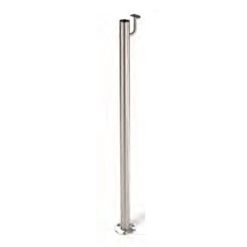 Indital Stainless Steel 1 2 3 Quot Newel Post Floor Mount And