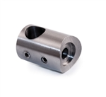 "Stainless Steel Bar Holder 1/2"" Dia. Hole for 2"""