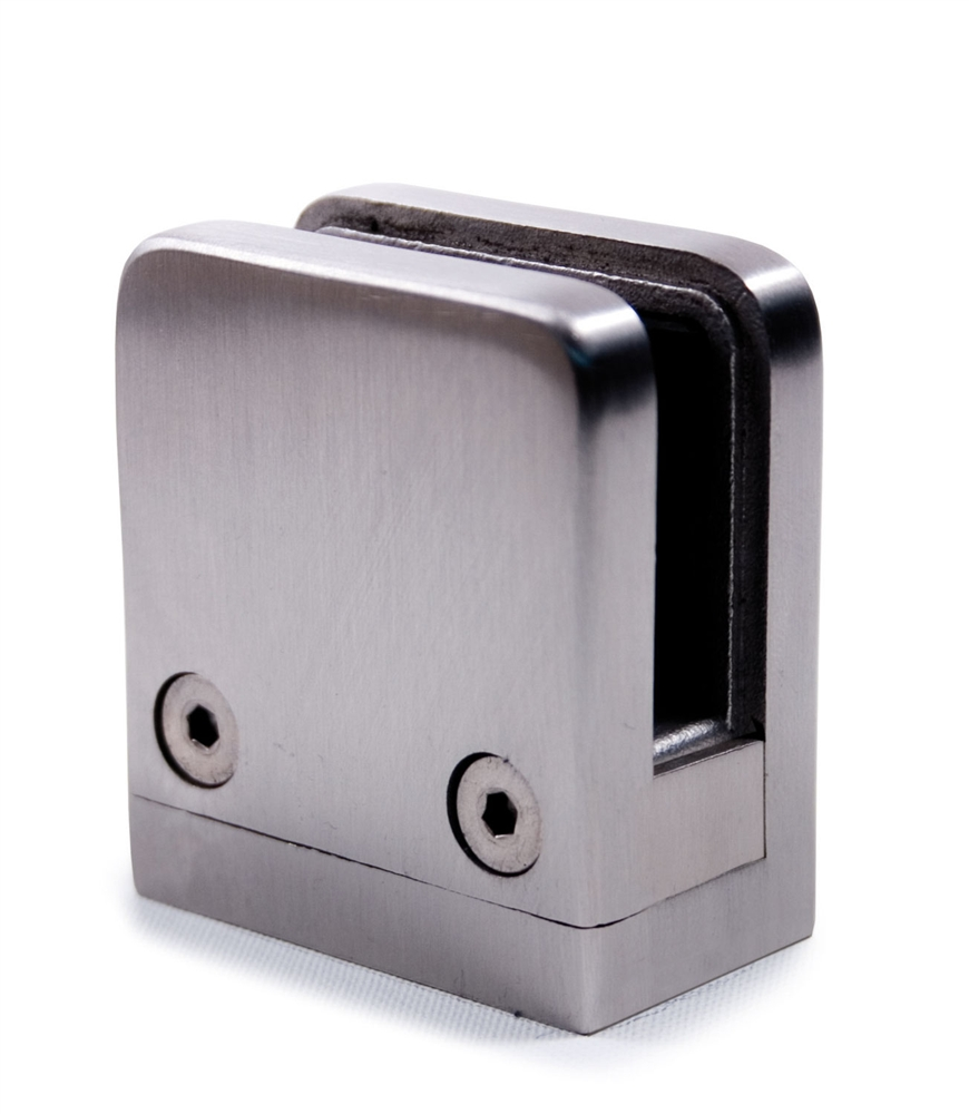 Stainless Steel Glass Clamps 1 Quot X 1 Quot For Square Tube