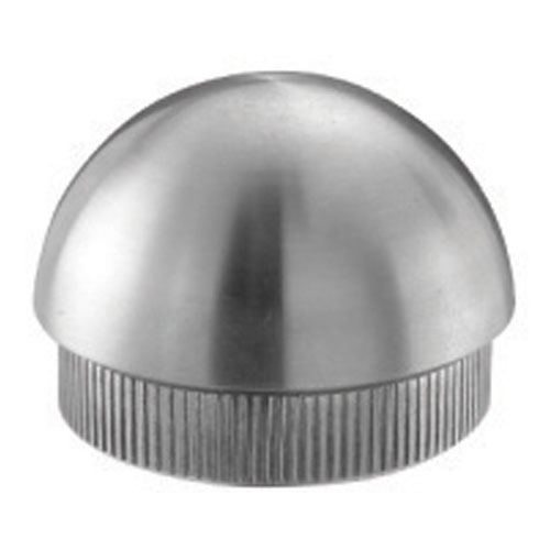 Indital stainless steel end cap semispherical for tube