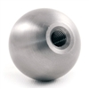 "Stainless Steel Sphere 2"" Dia. Threaded Blind Hole, Threaded M8"