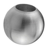"Stainless Steel Sphere 1 3/16"" Dia. Hole, 31/64"" D"