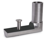 "Stainless Steel Anchorage Hanging Step Element for 1 2/3"" dia. tube"