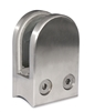"Stainless Steel Glass Clamp 1 3/4"" x 2 31/64"" for 1 7/8"" Tube"