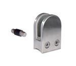 316 Stainless Steel Glass Clamp 1-3/4 X 2-31/64 X 1-3/32 for 1-2/3 Tube