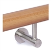 "316 Stainless Steel Handrail Support 1 9/16"" x 1 5"