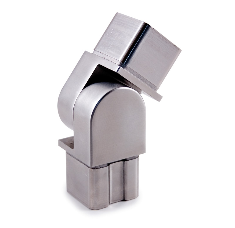 316 Hinge Spoke Stainless Steel Fitting For Square Tube 1