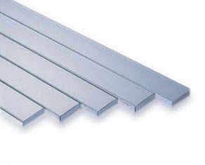 "316 Stainless Steel Flat Bar 1 9/16"" x 1/4"" x 1/16"" x 157 1/2"""
