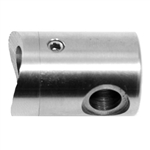 "Stainless Steel Terminal Support for Tube 1 2/3"" D"