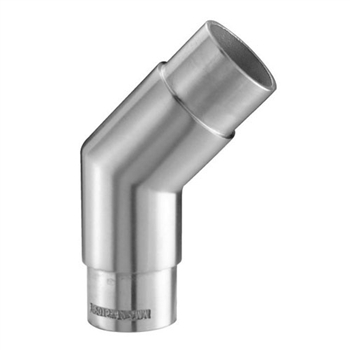 "Galvanized Steel Elbow 45d Angle 1 2/3"" Dia. x 5/6"