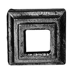 "Square flat shoe fits 1 3/16"" newel post"