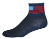 American Flag Socks - Navy