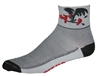 Buzzard Socks - Grey