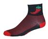 Chili Pepper Socks - Black