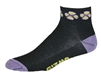 Flowers Socks - Black