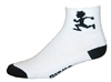 Gizmo Runner Socks - White