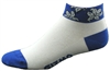 Hawaiian Low Socks - Blue