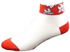 Hawaiian Low Socks - Red