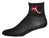 Lizard Socks - Black