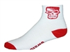 Skull Socks - white