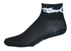 Shark Socks - Black