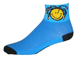 Smile Mon! Socks - blue