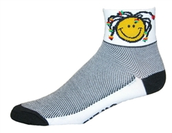 Smile Mon! Socks - white