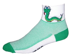 Snake Socks - white