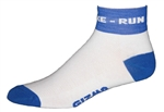 Triathlon Swim, Bike, Run Socks
