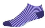 Stripes Socks - purple