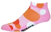 Polka Dot Socks - pink