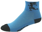 Gizmo Girl Socks - lt. blue