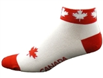 Canada Socks - red/white